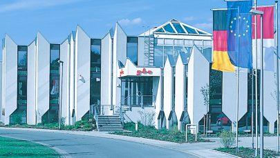 Der Standort der gbo AG in Rimbach
