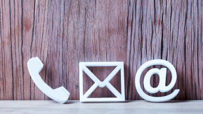 Kontakt E-Mail, Telefon